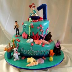 Birthday Ideas Ariel Birthday Cake Walmart Geovannas 3rd