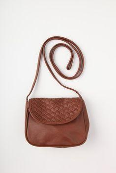woven sling bag - front hero