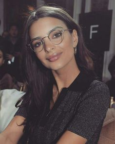 66 best glasses! images in 2019 sunglasses, girl glasses, girlsemily ratajkowski looks good profesional women work all day with collar shirts goes from this to