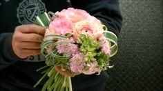 雑誌連載フラワーアーティストのウェディングブーケ制作レシピ~How to make wedding bouquet~the arrange...