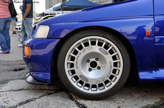 OZ Racing Rally Wheels on Escort RS Cosworth