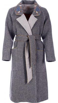 Woman : Coat Overcloud Vulcano