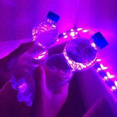 late night fun~~ | We Heart It | purple, neon, and aesthetic