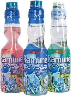 ramune soda with marble I need more!!!!!! BUT DON'T WANA GO TO FYE