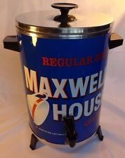 Vintage Regular Grind Maxwell House Coffee Good To The Last Drop Party Percolator ^^ Remarkable product available now. : Coffee Maker