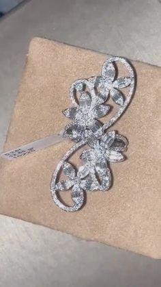 Diamond Flower, Gold Rings, Rose Gold, Floral, Flowers, Jewelry, Jewlery, Jewerly, Schmuck