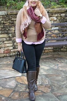Wraped Up In Fall : Talking about blanket scarves on Stylish Sassy and Classy