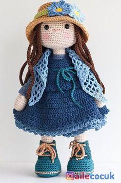 Mesmerizing Crochet an Amigurumi Rabbit Ideas. Lovely Crochet an Amigurumi Rabbit Ideas. Amigurumi Doll, Amigurumi Patterns, Doll Patterns, Amigurumi Tutorial, Crochet Doll Pattern, Crochet Dolls, Crochet Patterns, Love Crochet, Crochet Baby