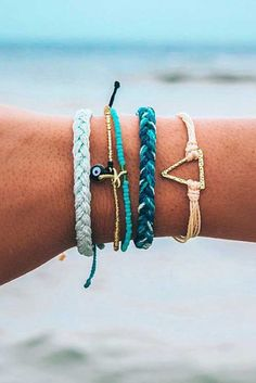Golden Ocean Blues | Pura Vida Bracelets