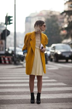 what-do-i-wear:    Rachel (image: stockholmstreetstyle)