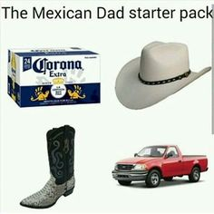 Mexican humor, growing up Mexican, starter pack
