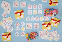 Inspired by these mini kindness kits. I plan to assemble something similar with my older son to give out to random people in our community.