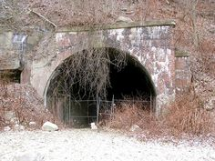 Abandoned Tunnel - Wheeling, West Virginia