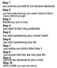 the steps of being a directioner. @me
