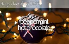 things I love about winter <3