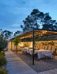 Can Caterina, courtyard dining room, Ibiza