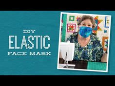How to make an easy face mask that's washable and reusable with spare fabric - Sewing Easy Face Masks, Diy Face Mask, Nose Mask, Quilting Tutorials, Sewing Tutorials, Missouri Star Quilt, Diy Sewing Projects, Diy Mask, Baby