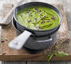Nettle soup    Get your gloves on to forage for wild plants like nettles - once cooked they have a spinach or cabbage flavour