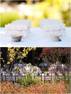 cute place card holder