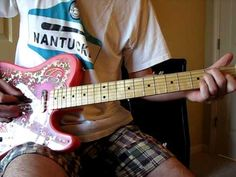 There's a second guitar that plays the harmony riff, but this is the main guitar part. Guitar Tips, Guitar Songs, Electric Guitar Lessons, Electric Guitars, Guitar Chords Beginner, Mr Men, Piano, Guitar Parts, Music Theory
