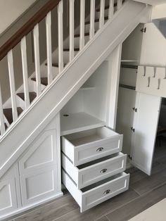 66 The Best Stairs Ideas To Interior Design Your Home ~ Best Dream Home . 66 The Best Stairs Ideas To Interior Design Your Home ~ Best Dream Home . House Plans, Under Stairs Storage Solutions, House Design, House Stairs, New Homes, Design Your Home, Interior Design Your Home, Hallway Decorating