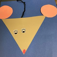 We Finished Our Hibernating Animals Month With Mice Great Review Of Colors And Shapes