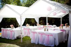 """Photo 3 of 25: Pink and White / Baptism """"Avalynn's Pinkalicious Baptism"""" 