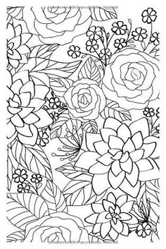 Image result for flower power coloring book by alisa burke