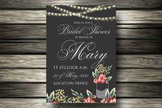 Wedding invitation. Wedding Card Templates