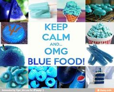 You know you're in the Pjo and fandom of you understand this and think its funny. And it would be even better if it said 'Keep calm and... omgs blue food!'