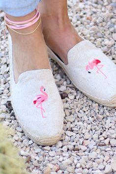 Soludos Flamingo Espadrilles