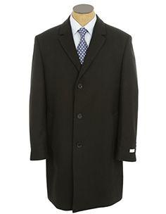 Calvin Klein Mens Black Wool Blend Long Over Coat Jacket Size- 44R Calvin Klein http://www.amazon.com/dp/B00P6MPDOA/ref=cm_sw_r_pi_dp_spn1ub0H1NHHF