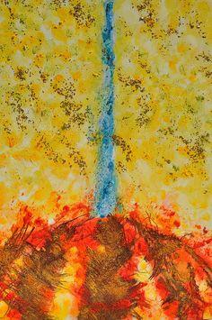 Mangrana II Mixta s/tablero. 120 x 90 cm.  #arte #contemporaneo #elche #art #paintings #misteridelx #antoniasoler #grafiaseàss #trees #palmtree http://antoniasoler.com/es/blog