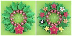 Christmas Cookie Wreath
