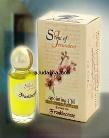 Scent of Jerusalem Anointing Oil Enriched with Frankincense by aJudaica
