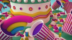 On-air and online rebranding for Nickelodeon's Best Birthday Ever. We created a zoetrope cake that create the illusion of motion by displaying a sequence of still elements showing progressive phases of that motion.  Credits Client : Nickelodeon Creative Director/Concept: William Chan Art Director : William Chan Producer :  Sun Renjie Designers: Zamir Rosli, Samuel Huang & William Chan Modeling/3D Animators : Zamir Rosli & Samuel Huang  Press Our work for Nickelodeon Best Birthday ...