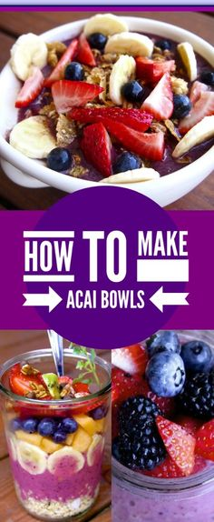 Tribute to Acai Bowls - Energize Your Soul - Layers of Happiness