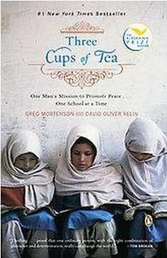 Three Cups of Tea by Greg Mortenson. Don't give a rat's ass what has been said about the author, the book is worth a read for sure.