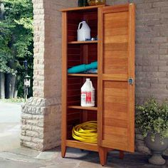 Home Styles Montego Bay One Door Multi Purpose Storage Cabinet   Benches At  Hayneedle