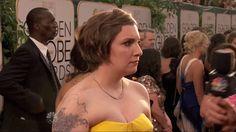 Globo de Ouro 2014: os melhores momentos em gifs! Lena Dunham que o diga!