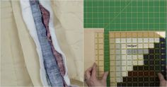 Avoid the overwhelm of quilting a large quilt with this technique! Quilting Tips, Quilting Tutorials, Quilting Designs, Sewing Tutorials, Video Tutorials, Sewing Hacks, Sewing Crafts, Sewing Projects, Sewing Tips