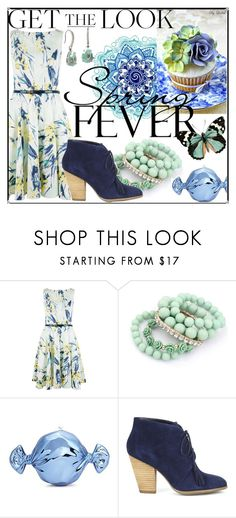 """""""Get the Look"""" by sapphire0205 ❤ liked on Polyvore featuring Etiquette, Closet, Ruby Rocks, Judith Leiber, Sole Society, Betsey Johnson and GetTheLook"""