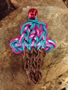 Ice Cream Swirl (marlene.barressii) -  ** The cone is made by mommy's Christmas Tree tutorial