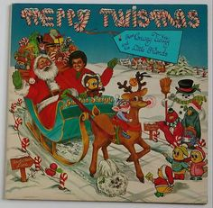 Merry Twismas From Conway Twitty And His Little Friends 1983 holiday vinyl record album 23971-1