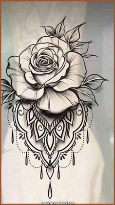Fantastic (no title - Tattoo Zeichnungen - Body Art Tattoos, Hand Tattoos, Sleeve Tattoos, Cool Tattoos, Gorgeous Tattoos, Pretty Tattoos, Rose Tattoo Forearm, Flower Wrist Tattoos, Tattoo Thigh