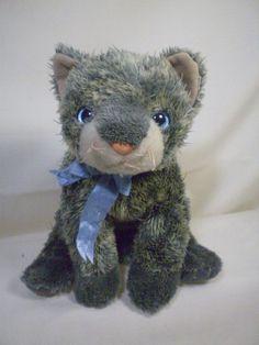 5f0c6d605da Ty Beanie Buddies Grey Kitty Cat FRISCO 10