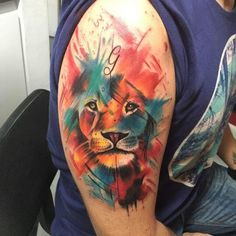 Every hour I publish the most interesting . Creative Tattoos, Unique Tattoos, New Tattoos, Tattoos For Guys, Lion Tattoo Design, Tattoo Design Drawings, Tattoo Sketches, Lion Tattoo Sleeves, Sleeve Tattoos