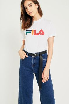 Fila Blue T Shirts For Women ShopStyle UK
