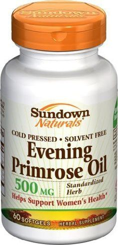 I just started taking this and the results are clear! Evening Primrose Oil. Great Anti-Aging supplement that you should start taking by age 30. Will see major improvement in skin tightening and preventing wrinkles. Helps with hormonal acne, PMS, weight control, chronic headaches, menopause, endometriosis, joint pain, diabetes, eczema, MS, infertility, hair, nails, and scalp #skincare #antiaging #beauty #aging