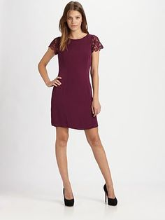 I love the lace detail & back cutout. Great color too!